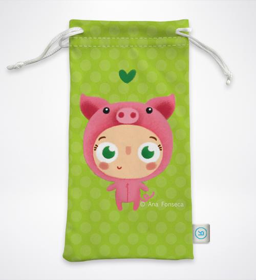 Amiguinho Porco – Bolsa