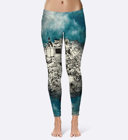 Planeta Azul – Leggings