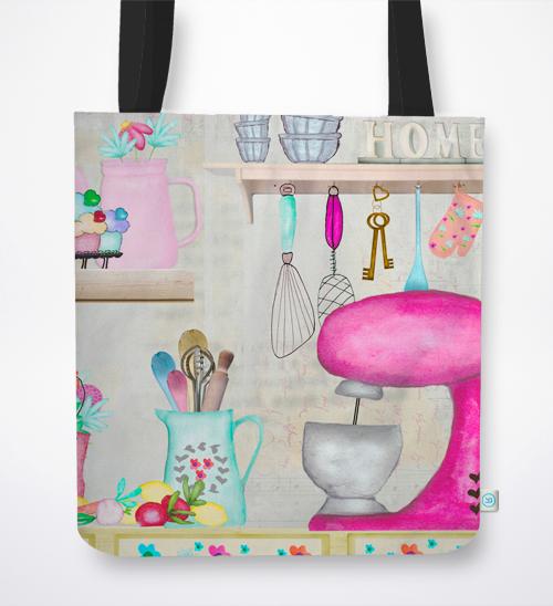 Pink Home – Sacos de Tecido
